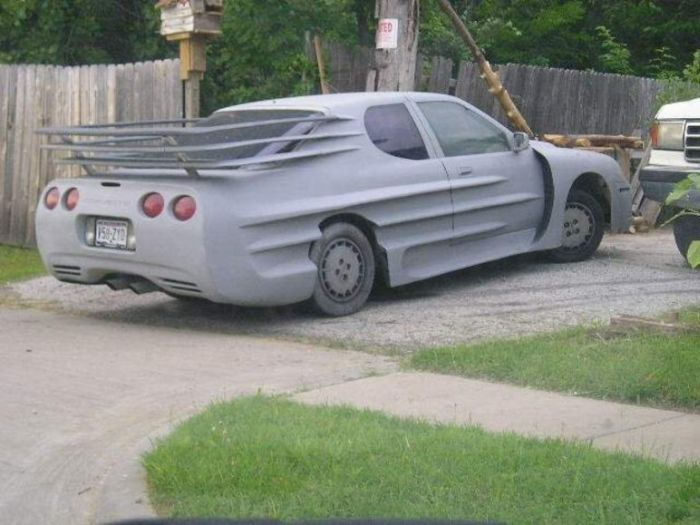 Забавный тюнинг авто
